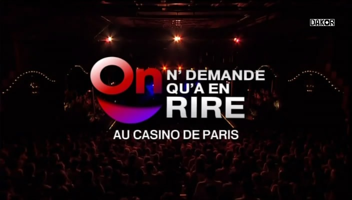 On n'demande qu'à en rire - Au Casino de Paris - 28/12/2012 [TVRIP]