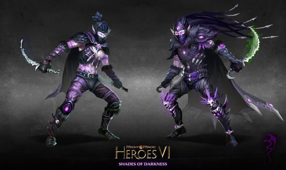 Герои меча и магии 6, кампания Пляска смерти, миссия 2 я Маска Чёрной.