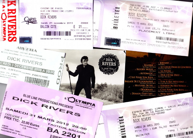 "DICK RIVERS ""Mister D Tour"" 2011/2013 : compte rendu (Casino de Paris, Olympia, Noisy, Clamart) 13010410082115789310728041"