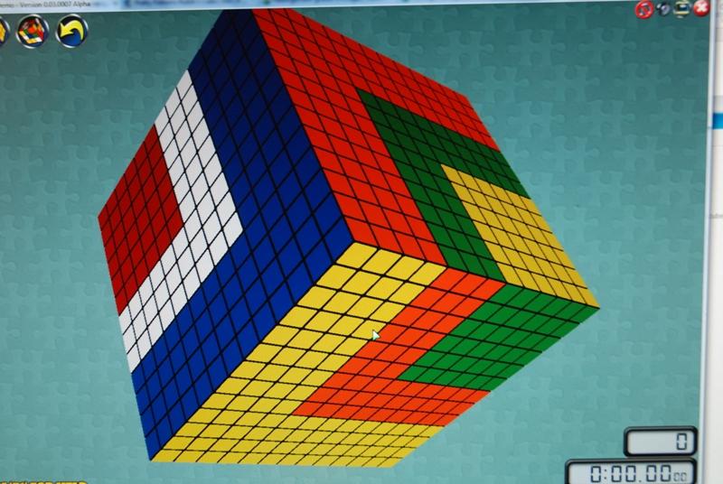 Figures insolites sur les grands cubes le rubik 39 s cube - Rubik s cube geant ...