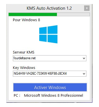KMS autoactivation V2 Crack Windows 8