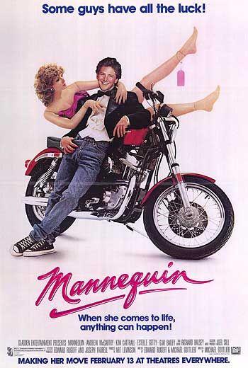 RETOUR VERS LES 80's : MANNEQUIN (1987) dans Cinéma 13010506551215263610728936
