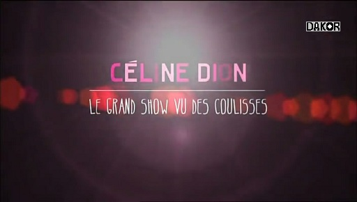 Céline Dion, le grand show vu des coulisses - 04/01/2013 [TVRIP]