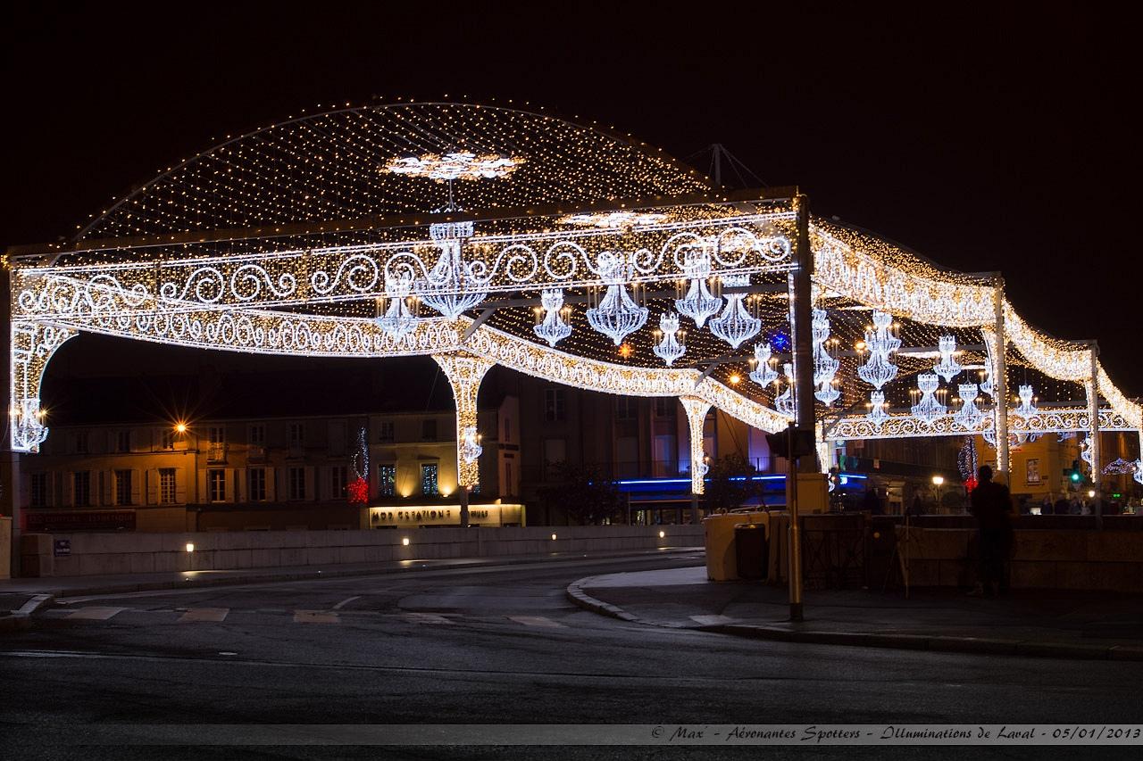 [Laval (53) - 05/01/2013] Illuminations de Noël autour de la Mayenne 13010601292515922510733192