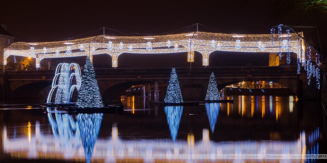 [Laval (53) - 05/01/2013] Illuminations de Noël autour de la Mayenne 13010601292615922510733193