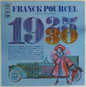 POURCEL FRANCK GRAND ORCHESTRE - 1925-1930 - LP