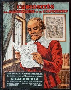 curiosites - Curiosités Journalisme Imprimerie 1938