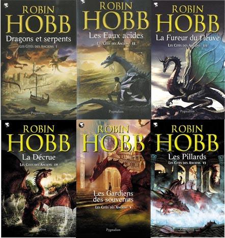 Robin Hobb Les cités des anciens T 1 à 6