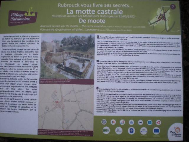 Castrale mottes van Frans-Vlaanderen 13011111151514196110751610