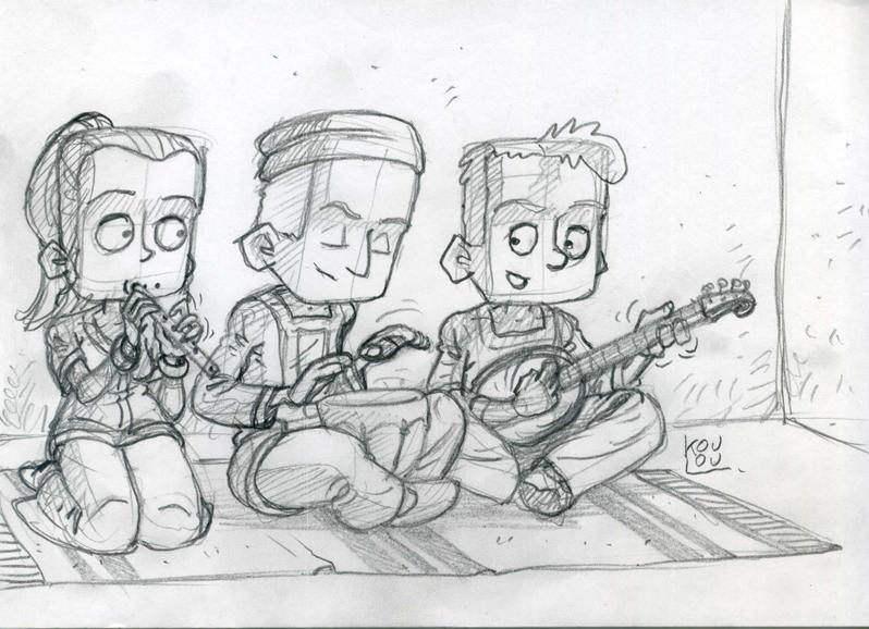Musique trio Titus FB