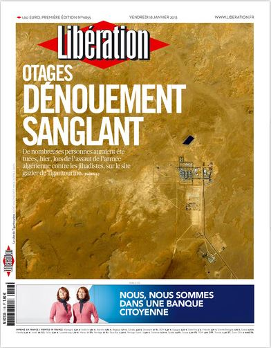 Libération Vendredi 18 janvier 2013