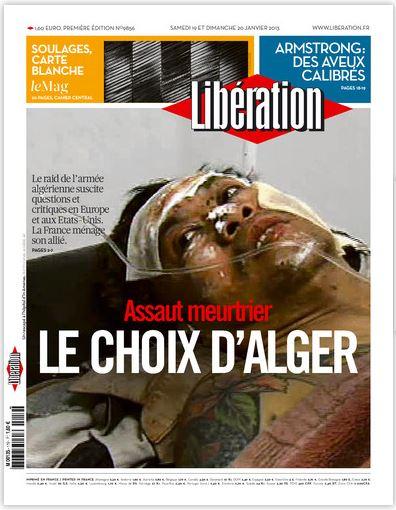 Libération du Samedi 19 et Dimanche 20 Janvier 2013