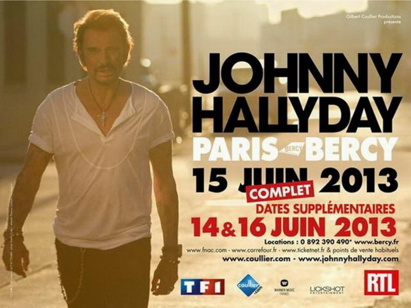 "Set list ""TOUR 2012"" JOHNNY HALLYDAY 24/04/2012 Orpheum Theatre (Los Angeles) 13011907000115789310777736"