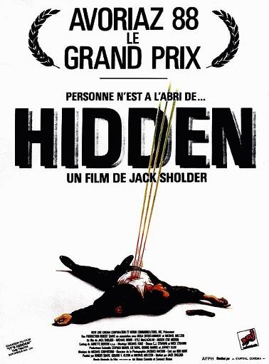 RETOUR VERS LES 80's : HIDDEN (1987) dans Cinéma 13011907465915263610774822