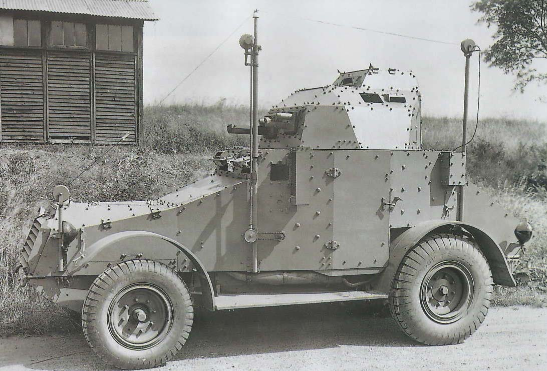 Panhard 165 squadron command variant - Source: Unknown