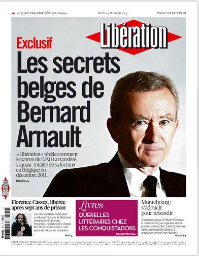 Libération Jeudi 24 janvier 2013