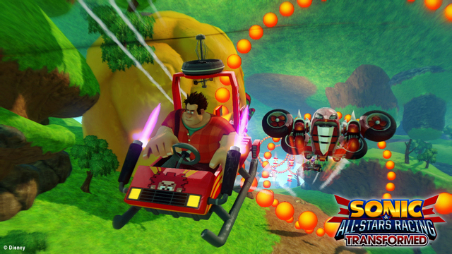 Sonic & All-Stars Racing Transformed Image