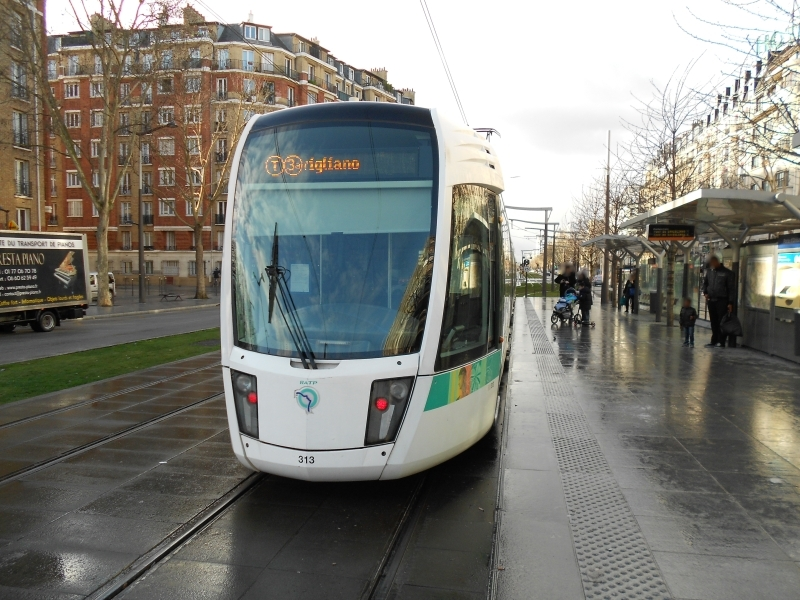 Tramway T3a RATP