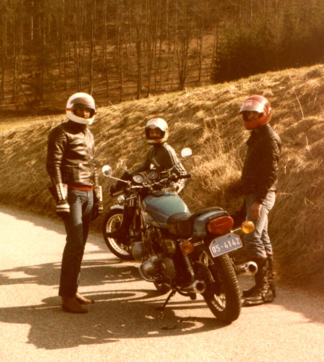 1978 Suzuki GS750 Stetten