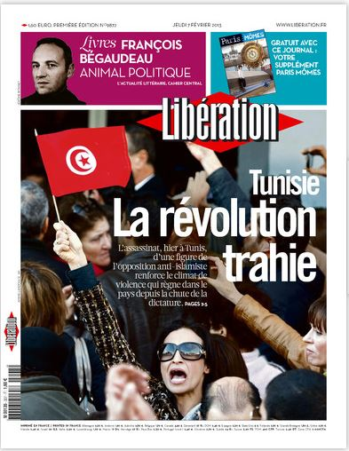 Libération Jeudi 07 février 2013