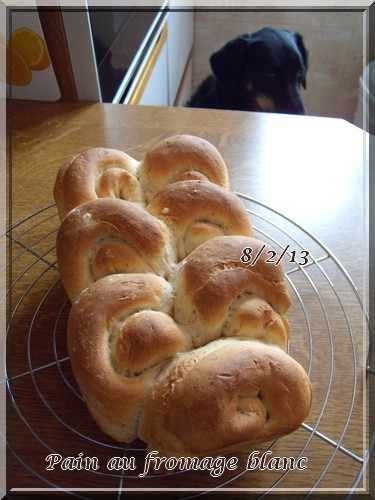Pain au fromage blanc + photo 1302080544146838310845965
