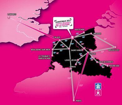 Duinkerke 2013, regionale culturele hoofdstad  13020910311214196110849891
