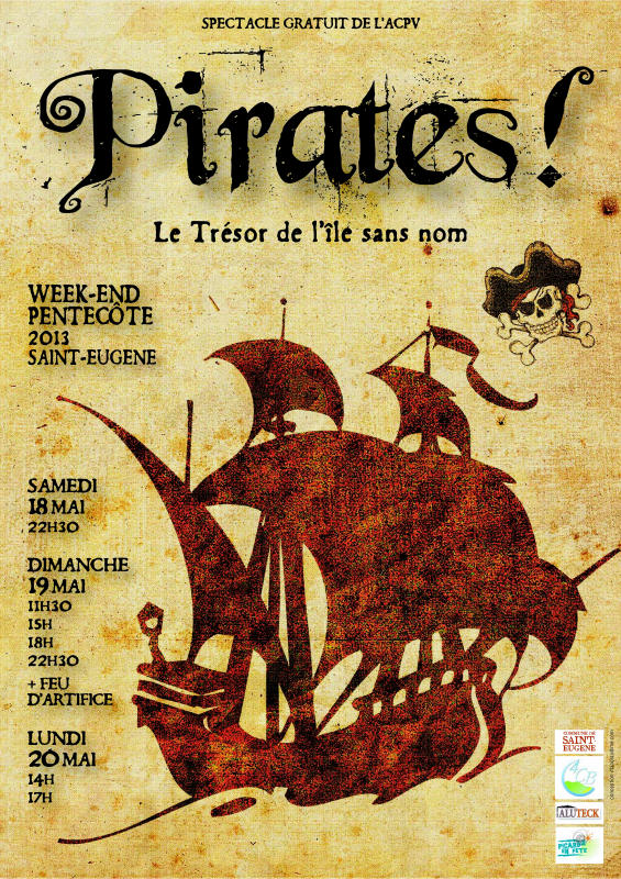 AFFICHE PIRATES! 2013RED