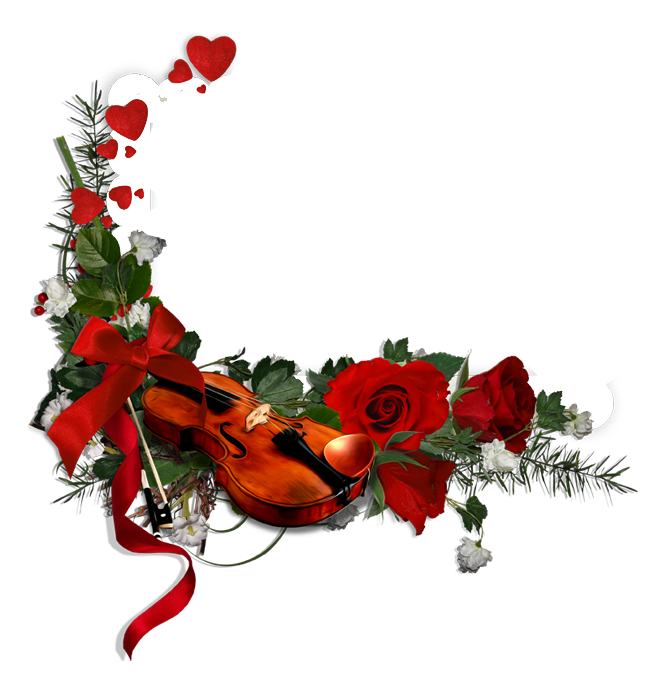 1) roses violon  bhy3rn