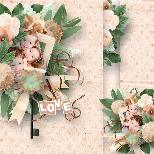 vintage et profiteroles kit simplette page sakura rak sarayane