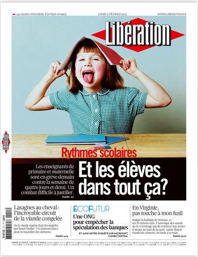 Libération Lundi 11 février 2013