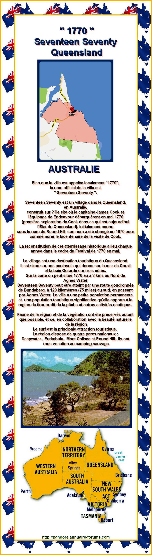 ' 1770 ' c'est le nom d'une petite ville en Australie  13021207554615723410860882