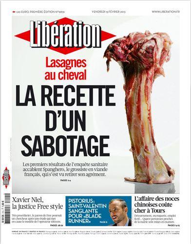 Libération Vendredi 15 février 2013