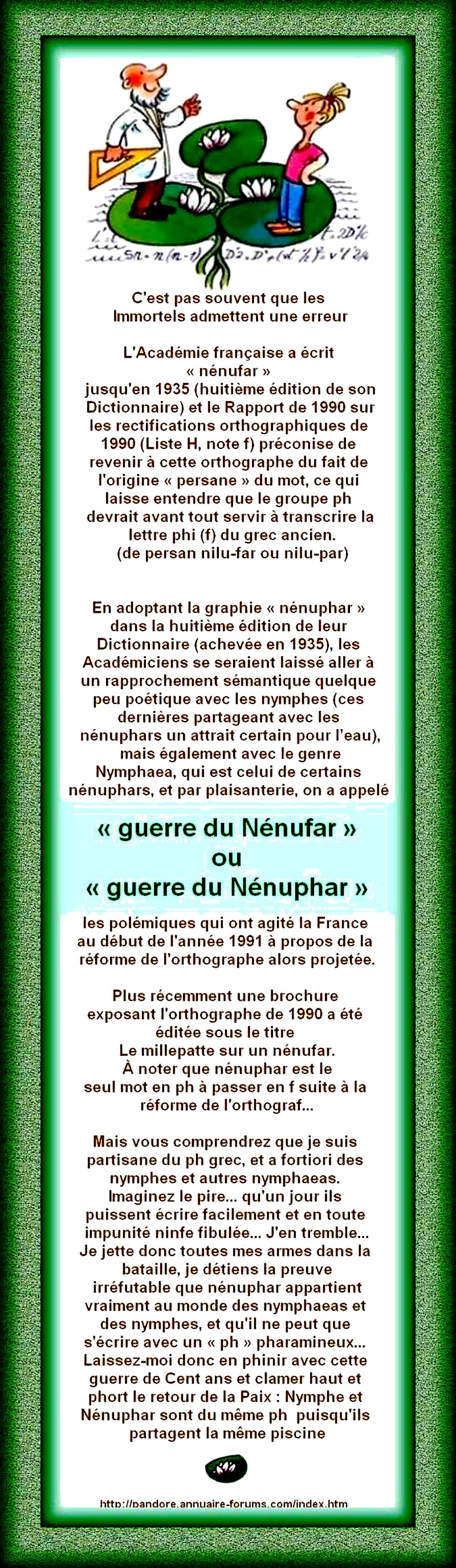 quel est la PH du nénuphar ???? 13021601093716073410871115