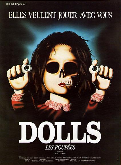 RETOUR VERS LES 80's : DOLLS (1987) dans Cinéma 13021708290315263610874840