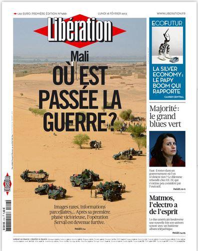 Libération Lundi 18 février 2013