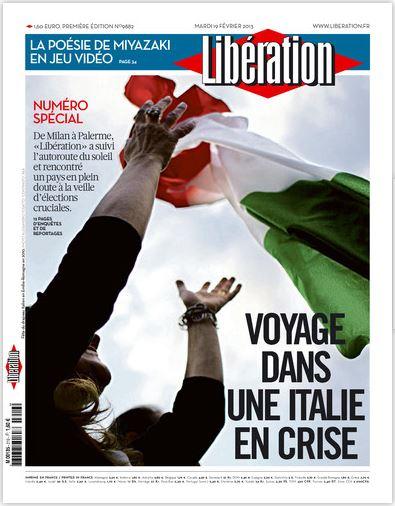 Libération Mardi 19 février 2013
