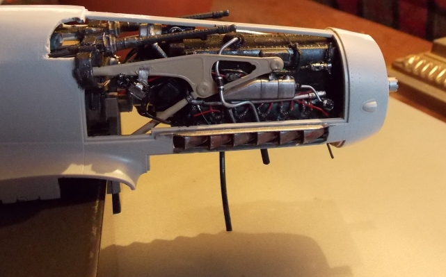 Projet Gunther Rall, Me BF 109 G6 et Mercedes 540 K + figurines au 1/24 13022206474916079110894093