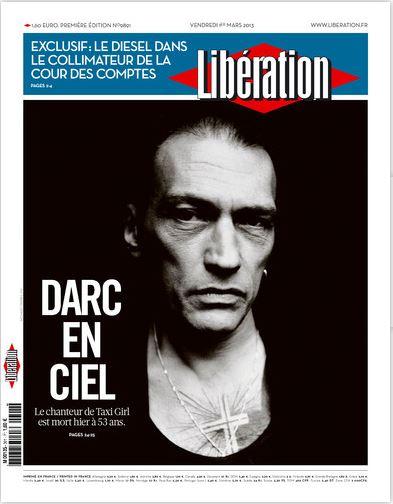Libération Vendredi 1er Mars 2013