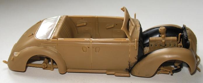 Opel admiral cabriolet Revell 1/35 1303020423316670110920932