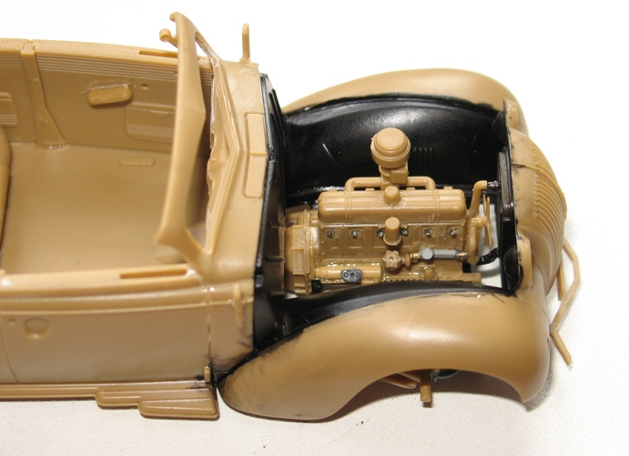 Opel admiral cabriolet Revell 1/35 1303020423486670110920933
