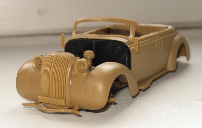 Opel admiral cabriolet Revell 1/35 1303020424006670110920934