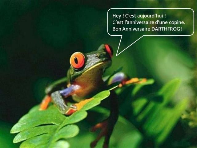 bon anniversaire grenouille