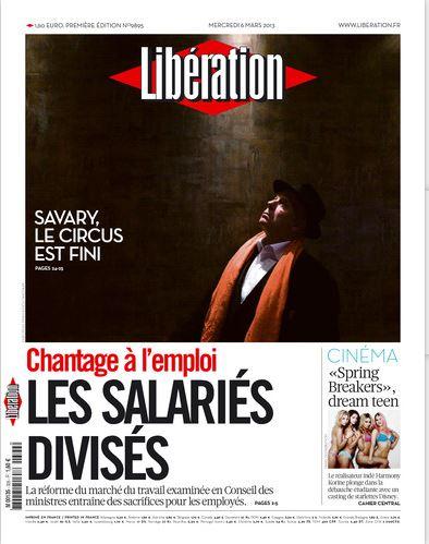 Libération Mercredi 06 Mars 2013