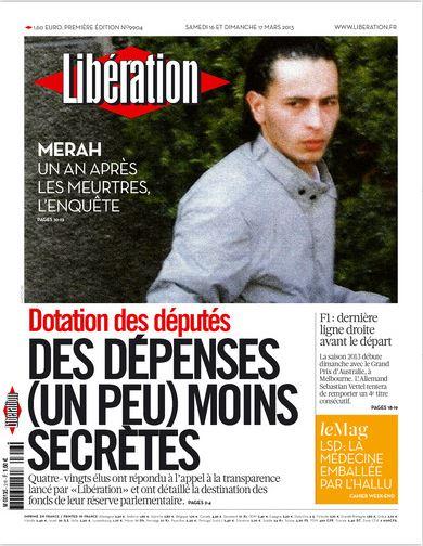 Libération Samedi 16 et dimanche 17 mars 2013