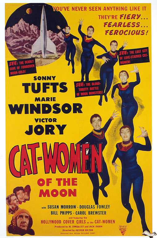 DRIVE-IN : CAT-WOMEN OF THE MOON dans Cinéma bis 13031606585515263610975105