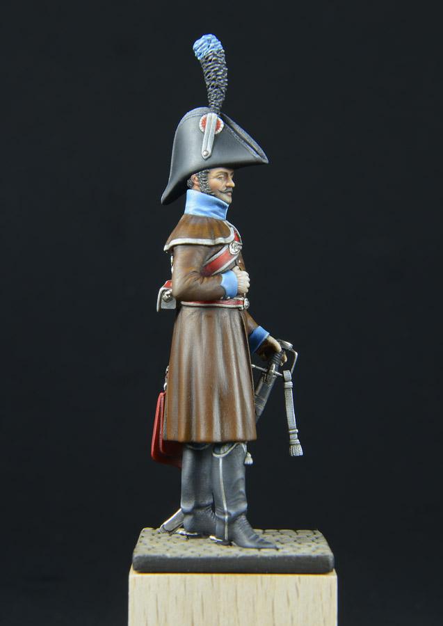 Hussards suite: Officier du 2ème Régiment en redingote. 1303170253253593410978853
