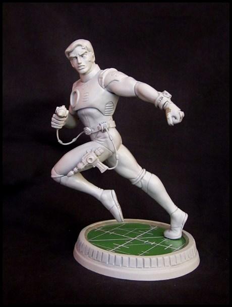 Capitaine Flam statue 13031707460216083610982268