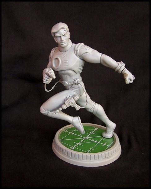 Capitaine Flam statue 13031707460716083610982274