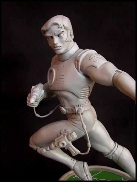 Capitaine Flam statue 13031707461016083610982276