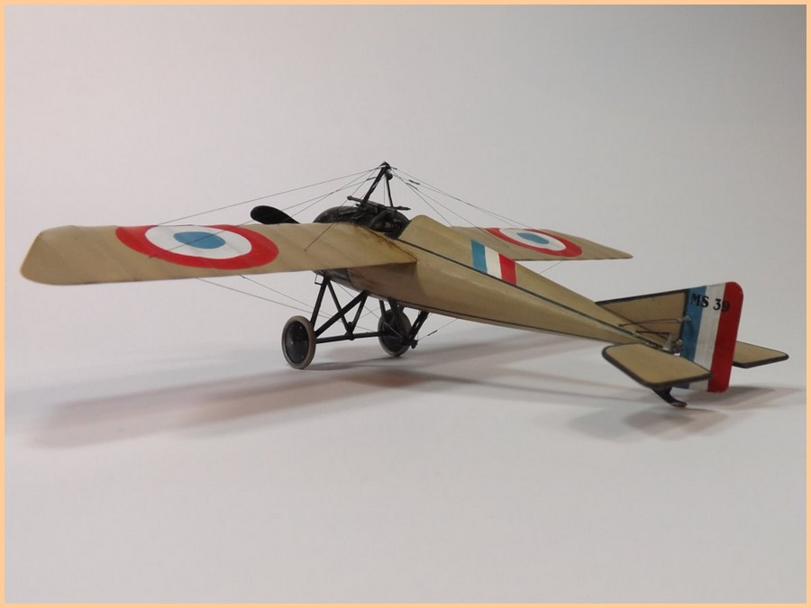 1/48 Morane Saulnier type N: Jean Navarre novembre 1915 13031812432514768310983432